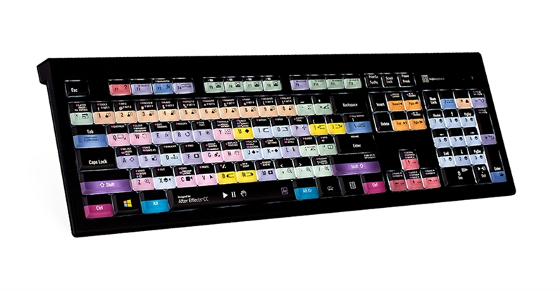 After Effects CC - PC ASTRA Backlit Keyboard - US English