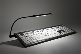 LogicLight™ Bundle - Black LED USB Keyboard Lamp