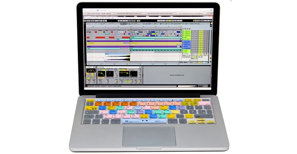 info for 06fa6 fd733 Ableton Live LogicSkin Apple Keyboard Cover