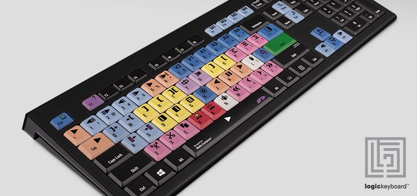 Shortcut keyboard for Media Composer - Logickeyboard