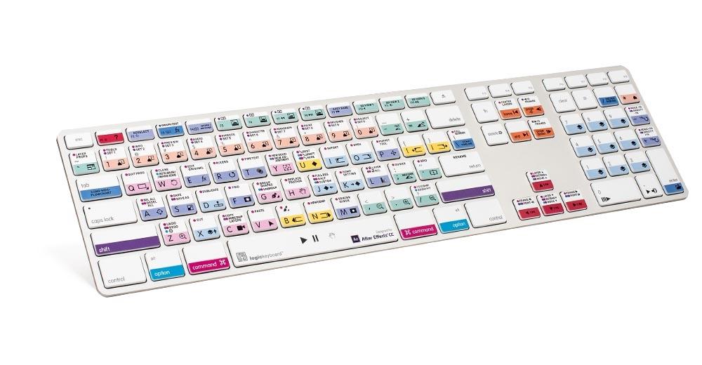 Logickeyboard Adobe After Effects Apple keyboard