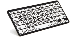Bluetooth keyboard for vision impaired
