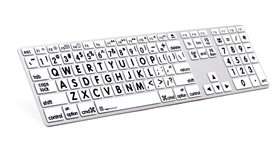 LargePrint Black on White - Mac Advance Line Keyboard