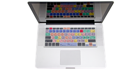 Premiere Pro CC - Before 2016 MacBook Pro Keyboard Cover