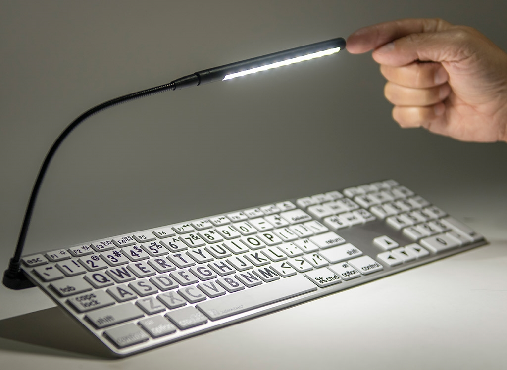 how to turn the lights on your mac keyboard